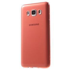 Ultratenký slim gelový obal na Samsung Galaxy J5 (2016) - červený - 2