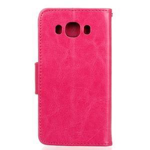 Wall PU kožené pouzdro na Samsung Galaxy J5 (2016) - rose - 2