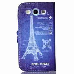 Emotive peněženkové pouzdro na Samsung Galaxy S3 - Eiffelova věž - 2