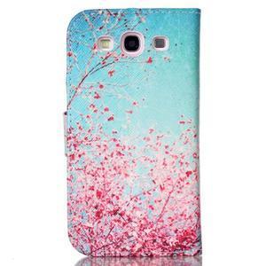 Emotive peněženkové pouzdro na Samsung Galaxy S3 - kvetoucí švestka - 2