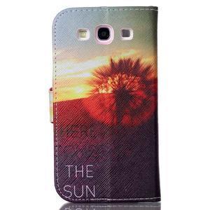 Emotive peněženkové pouzdro na Samsung Galaxy S3 - východ slunce - 2