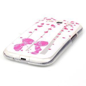 Gelový obal na mobil Samsung Galaxy S3 - láska - 2