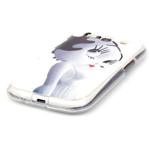 Gelový obal na mobil Samsung Galaxy S3 - kočička - 2