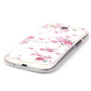 Gelový obal na mobil Samsung Galaxy S3 - květiny - 2