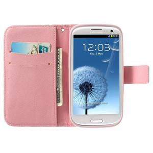 Funy pouzdro na mobil Samsung Galaxy S3 - květiny - 2