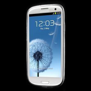 Ultratenký gelový obal na mobil Samsung Galaxy S3 - peříčko - 2