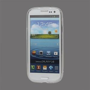 S-line gelový obal na Samsung Galaxy S3 - transparentní - 2