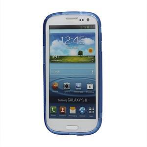 S-line gelový obal na Samsung Galaxy S3 - modrý - 2