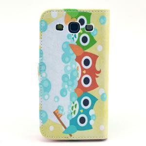 Pictu pouzdro na mobil Samsung Galaxy S3 - sovičky - 2