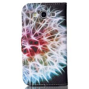 Emotive peněženkové pouzdro na Samsung Galaxy S3 - odkvetlá pampeliška - 2