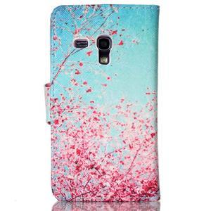 Emotive pouzdro na mobil Samsung Galaxy S3 mini - kvetoucí švestka - 2