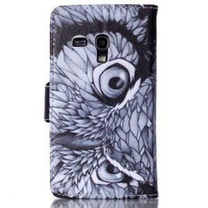 Emotive pouzdro na mobil Samsung Galaxy S3 mini - sova - 2
