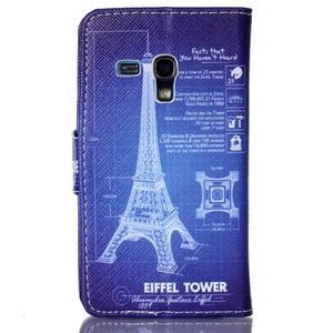 Emotive pouzdro na mobil Samsung Galaxy S3 mini - Eiffelova věž - 2