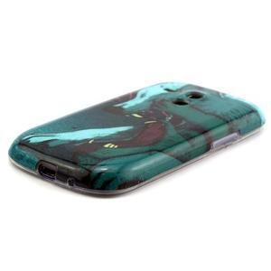 Gelový obal na mobil Samsung Galaxy S3 mini - vlci - 2