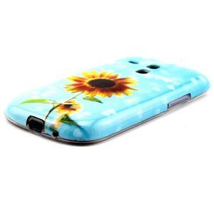 Gelový obal na mobil Samsung Galaxy S3 mini - sunflower - 2