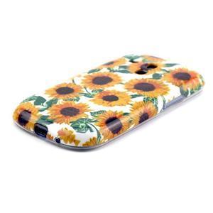 Gelový obal na mobil Samsung Galaxy S3 mini - slunečnice - 2