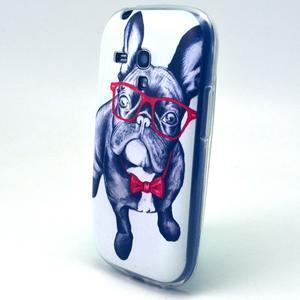 Gloss gelový kryt na Samsung Galaxy S3 mini - buldog - 2