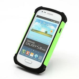 Outdoor odolný obal na mobil Samsung Galaxy S3 mini - zelený - 2