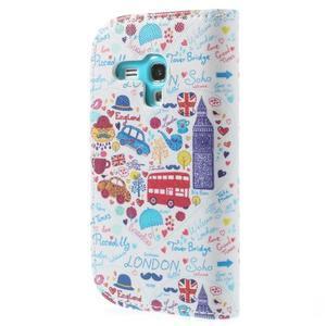 Knížkové pouzdro na mobil Samsung Galaxy S3 mini - Londýn - 2