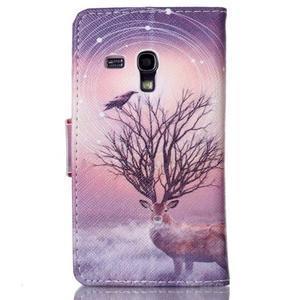 Emotive pouzdro na mobil Samsung Galaxy S3 mini - mystický jelen - 2