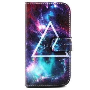 Standy peněženkové pouzdro na Samsung Galaxy S4 - triangl - 2