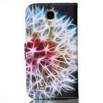 Emotive knížkové pouzdro na Samsung Galaxy S4 - barevená pampeliška - 2/6