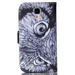 Emotive knížkové pouzdro na Samsung Galaxy S4 - sova - 2/6