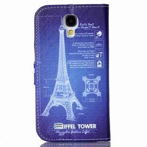 Emotive knížkové pouzdro na Samsung Galaxy S4 - Eiffelova věž - 2