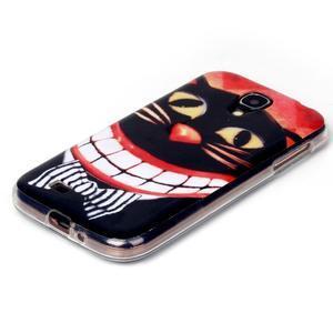Softy gelový obal na mobil Samsung Galaxy S4 - kocour - 2