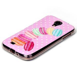 Softy gelový obal na mobil Samsung Galaxy S4 - makrónky - 2