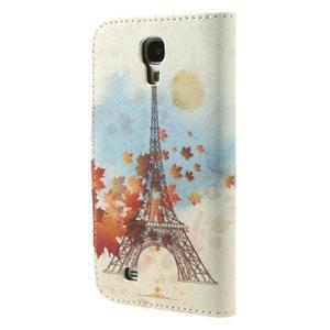 Elegant peněženkové pouzdro na Samsung Galaxy S4 - Eiffelova věž - 2