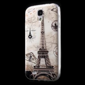 Slim gelový obal na mobil Samsung Galaxy S4 - Eiffelova věž - 2