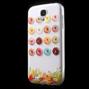 Slim gelový obal na mobil Samsung Galaxy S4 - donuts - 2