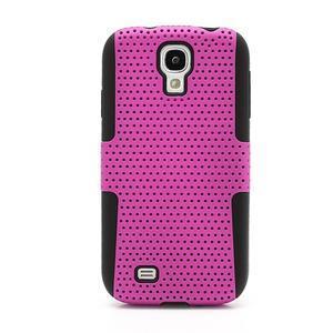 Odolný obal na mobil Samsung Galaxy S4 - rose - 2