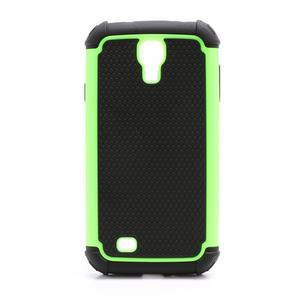 Outdoor odolný silikonový obal na Samsung Galaxy S4 - zelený - 2