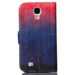 Emotive peněženkové pouzdro na Samsung Galaxy S4 mini - meteory - 2