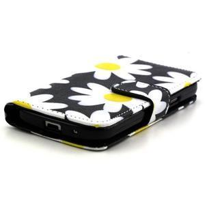 Pouzdro na mobil Samsung Galaxy S4 mini - sedmikrásky - 2