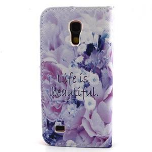 Diaryleather pouzdro na mobil Samsung Galaxy S4 mini - beatiful - 2