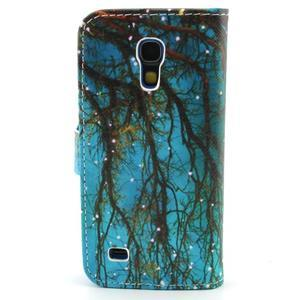 Diaryleather pouzdro na mobil Samsung Galaxy S4 mini - větve stromu - 2