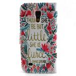 Diaryleather pouzdro na mobil Samsung Galaxy S4 mini - Shakespeare - 2/7