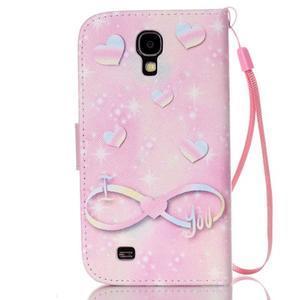 Diary peněženkové pouzdro na mobil Samsung Galaxy S4 mini - láska - 2