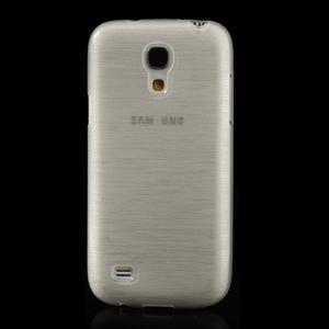Brushed gelový obal na mobil Samsung Galaxy S4 mini - bílý - 2