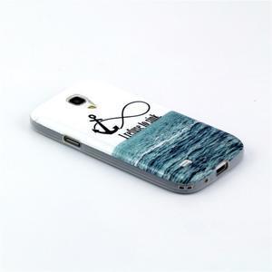 Stylish gelový obal na mobil Samsung Galaxy S4 mini - kotva - 2