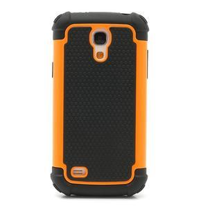 Extreme odolný kryt na mobil Samsung Galaxy S4 mini - oranžový - 2