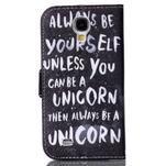 Emotive peněženkové pouzdro na Samsung Galaxy S4 mini - unicorn - 2/6