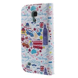 Style peněženkové pouzdro na Samsung Galaxy S4 mini - Londýn - 2