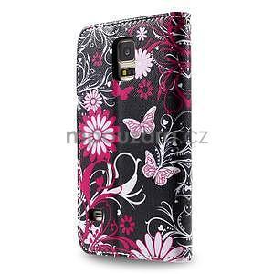Ochranné pouzdro na mobil Samsung Galaxy S5 - motýlci - 2