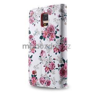 Ochranné pouzdro na mobil Samsung Galaxy S5 - květinová koláž - 2