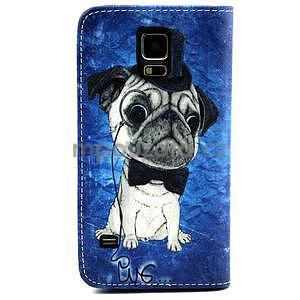 Pouzdro na mobil Samsung Galaxy S5 - mops - 2