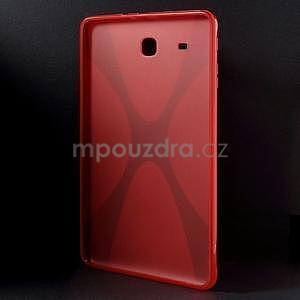 X-line gelové pouzdro na tablet Samsung Galaxy Tab E 9.6 - červené - 2